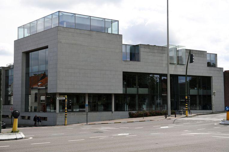 Architectenbureau Jaspers-Eyers Architects aan de Tervuursepoort in Leuven.