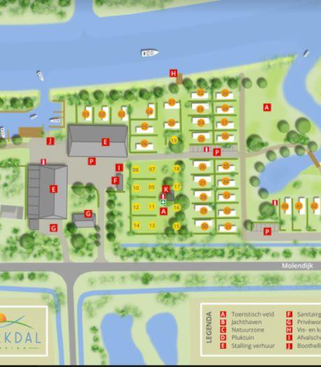 Uitbreiding camping Markdal begint na de zomer: 'Roeiclub heeft voor volgend jaar al geboekt'