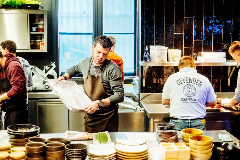 L.E.S.S. wordt een dagzaak: van ontbijt tot 's avonds, je kan er de hele dag terecht. Gert De Mangeleer (m).  Beeld Stefaan Temmerman
