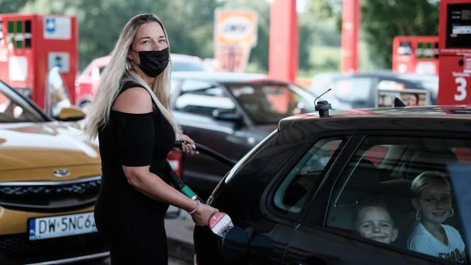 Nederlanders negeren mondkapjesplicht bij Duitse tankstations: 'Ik snap die weigeraars niet'