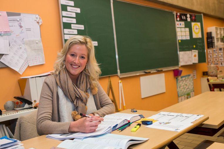 Lerares Shanna van de Vrije Basisschool Domino zou liever werken op een rustige gemeenteschool.