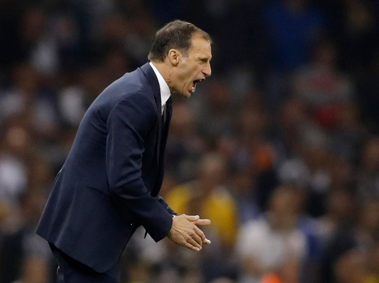 Britain Soccer Football - Juventus v Real Madrid - UEFA Champions League Final - The National Stadium of Wales, Cardiff - June 3, 2017 Juventus coach Massimiliano Allegri  Reuters / Carl Recine Livepic Beeld null