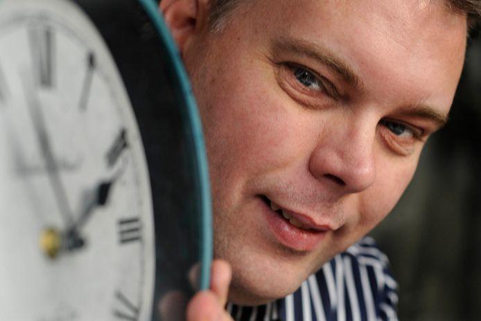 Simon Brouwer, fractievoorzitter CU/SGP.