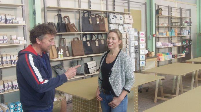 Karen Raatsie en Robert Vos in Spoor8.