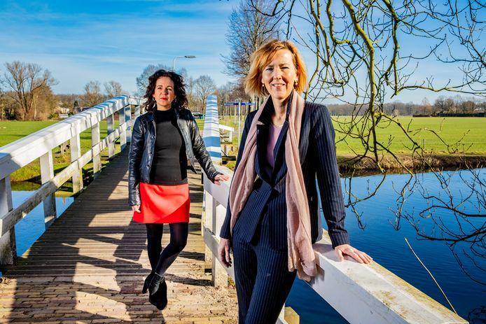 Jacqueline Baardman (links) en Rianne van den Berg.