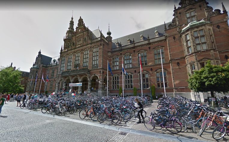 De Rijksuniversiteit Groningen Beeld Google Maps