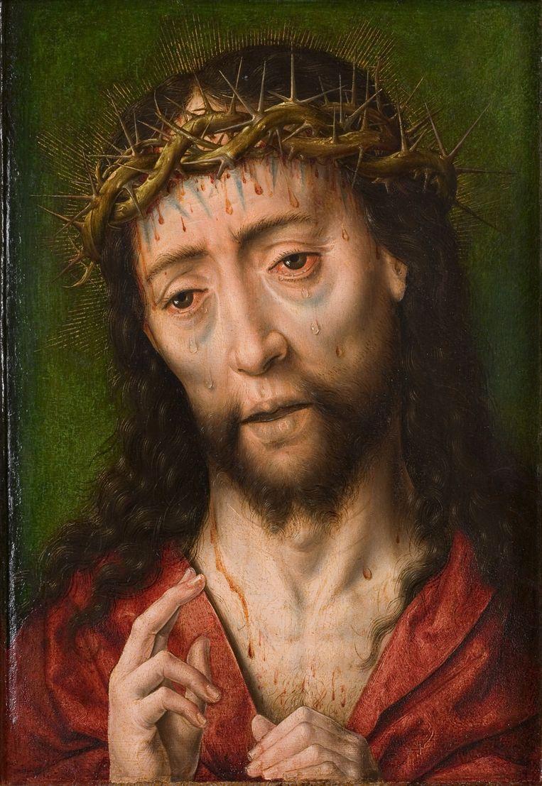 Albrecht Bouts - Christus met de doornenkroon ca 1460 Beeld RV