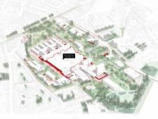 """Tegen 2040 is UZ Gent energieneutraal, heeft het 100 bedden minder en ligt het in het groen: """"We willen deel uitmaken van de buurt"""""""