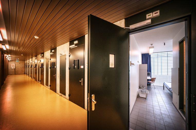 In het  Pieter Baan Centrum worden zware criminelen zeven weken lang onderzocht. Beeld robin utrecht