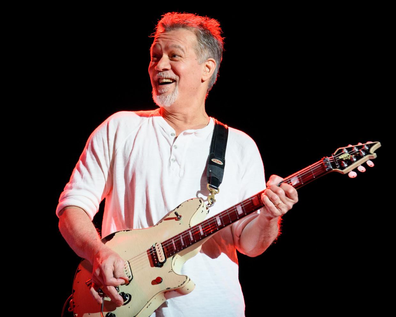 Eddie Van Halen in 2015. Beeld BELGAIMAGE
