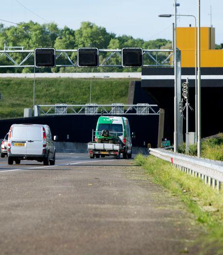 Heinenoordtunnel twee nachten dicht vanwege onderhoudswerkzaamheden