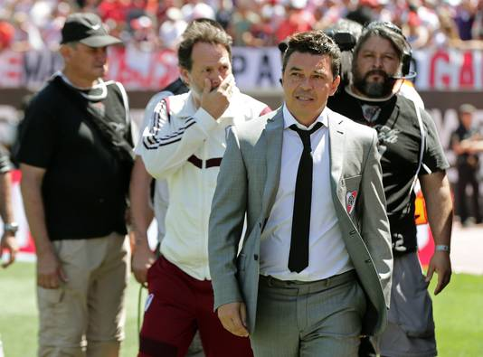 Marcelo Gallardo, de succescoach van River Plate.