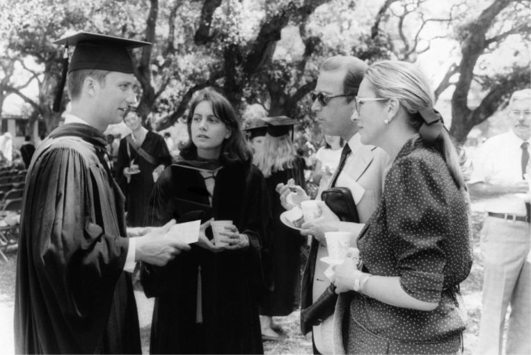 'Toen Filip aan Stanford ging studeren, werd het onmogelijk geacht dat hij een diploma zou halen, maar hij heeft het toch geflikt.' Beeld