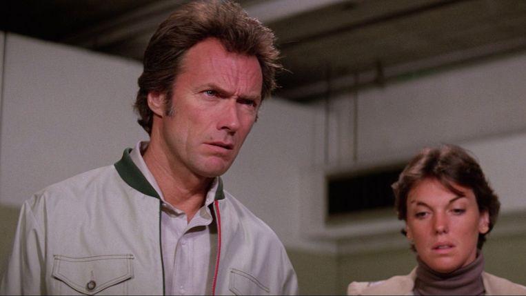 Clint Eastwood en Tyne Daly in The Enforcer van James Fargo Beeld