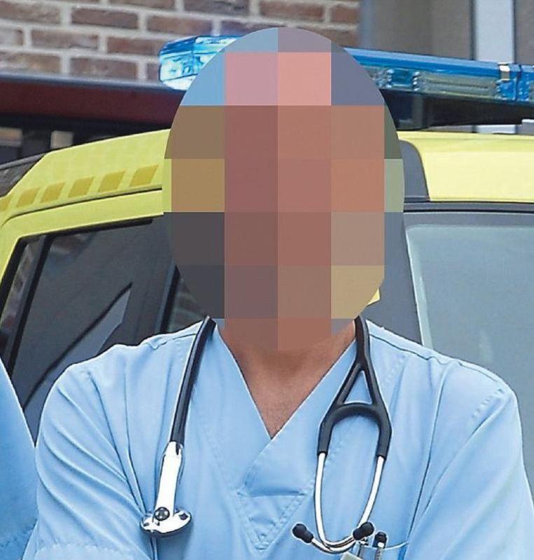 Spoedarts Kris P. werkt momenteel in een ander ziekenhuis.