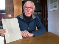Hans stuurde brief naar de burgemeester nadat huis werd verwoest in de oorlog: 'Je bent een flinke jongen, schreef hij terug'