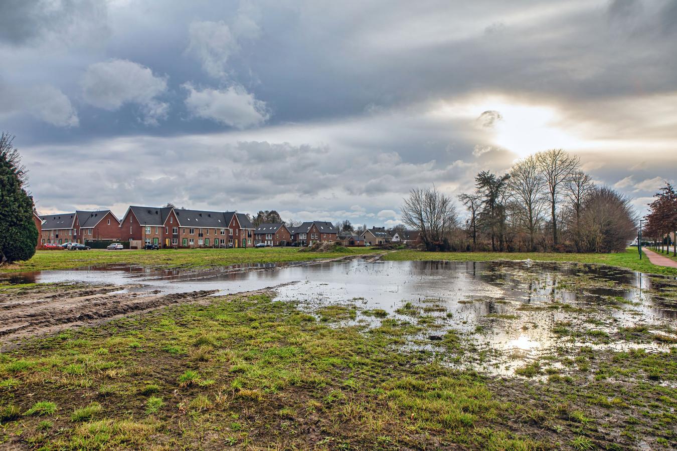 Op dit terrein aan de Beljaartlaan in Dongen wordt straks gebouwd.