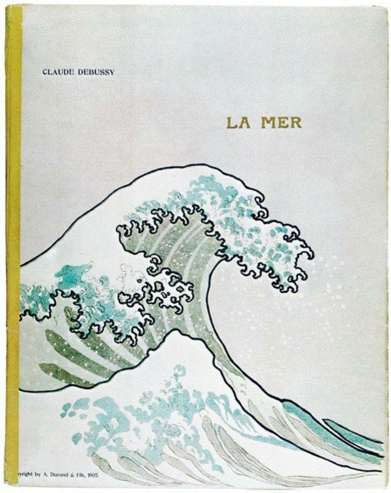 Claude Debussy: partituur La mer. Uitgeverij A. Durand & fils, 1905. Beeld A. Durand & fils