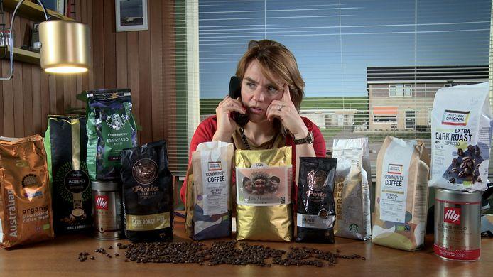 Keuringsdienst van Waarde: Sofie van den Enk in de aflevering over koffieroast.