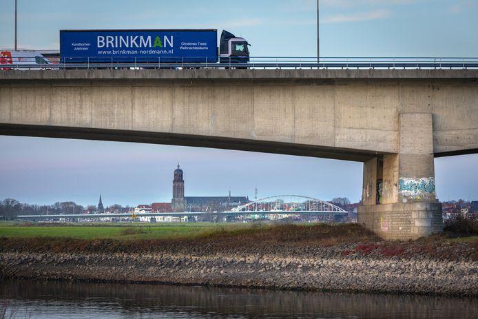 De brug bij Deventer