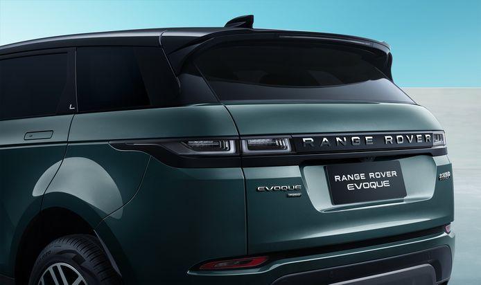 De (Chinese) Range Rover Evoque L is 16 centimeter langer dan de versie die Nederlanders kunnen kopen.