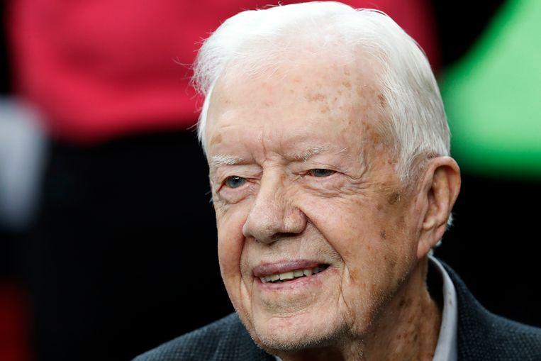 Voormalig president Jimmy Carter. Beeld AP