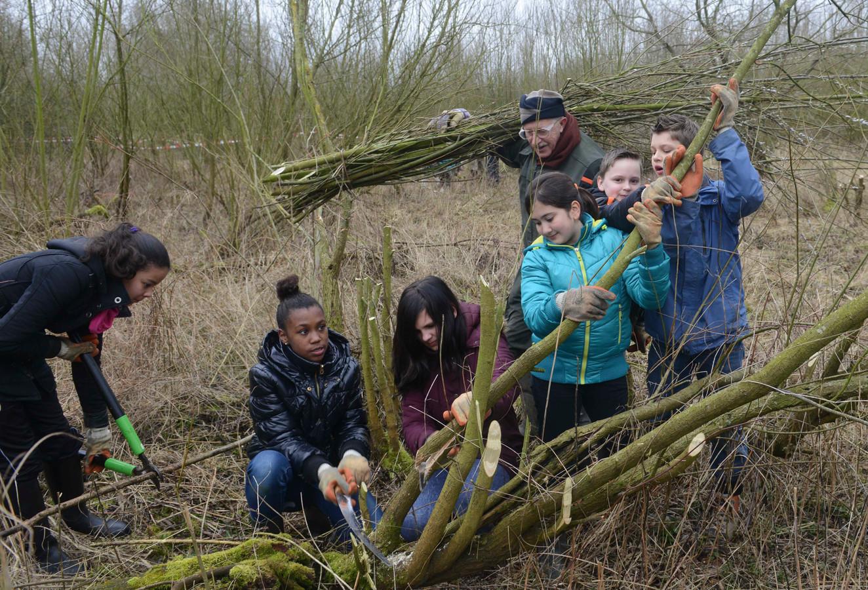 Basisschoolleerlingen tijdens een NME-les. Foto ter illustratie.