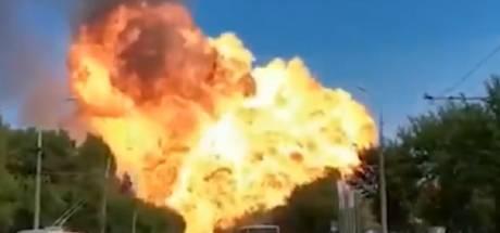 Un réservoir d'essence explose en Russie: au moins treize blessés