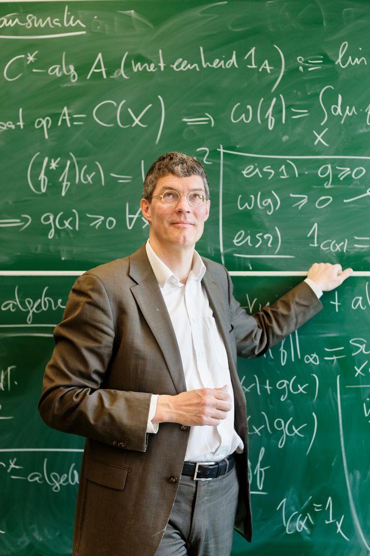 Klaas Landsman, hoogleraar mathematische fysica aan de Radboud Universiteit. Beeld null