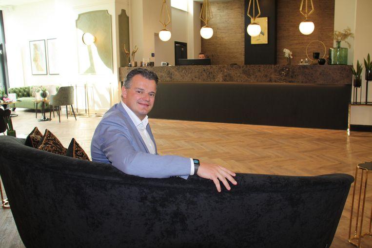 C-Hotels Continental in De Panne is open. Zaakvoerder Xavier Vercaemst