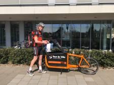 Voor elkaar: Fietskoeriers in Eindhoven bezorgen medicijnen aan huis