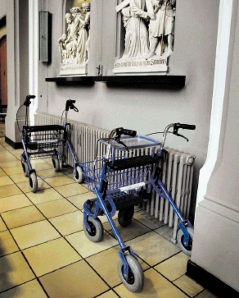 Wordt de kerk het exclusieve domein van ouderen (FOTO JÃ¿RGEN CARIS, TROUW ) Beeld