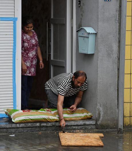 EN IMAGES: l'est du pays ravagé par les inondations
