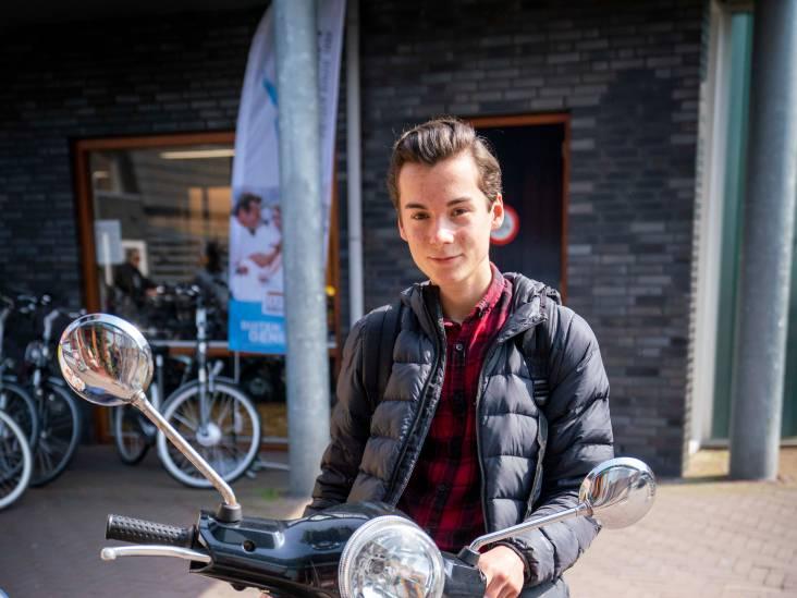 Mats uit Gendt wint tijd met zijn scooter