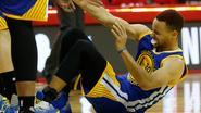 Warriors twee weken zonder sterspeler Curry