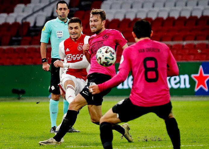 Ajax - FC Utrecht, eerder dit seizoen in het KNVB-bekertoernooi.