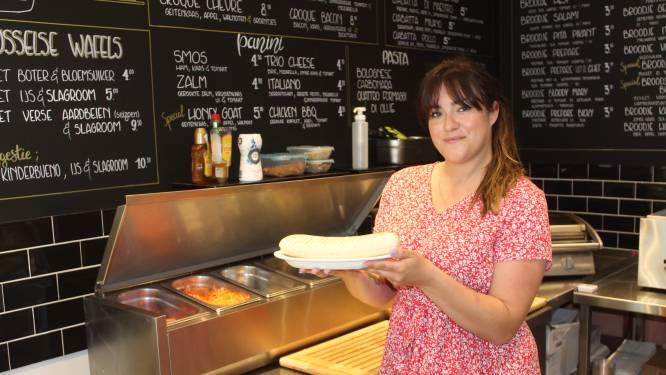 """Sarah (29) opent lunchroom Croque Raoul: """"Broodjeszaak met croque monsieur als specialiteit"""""""