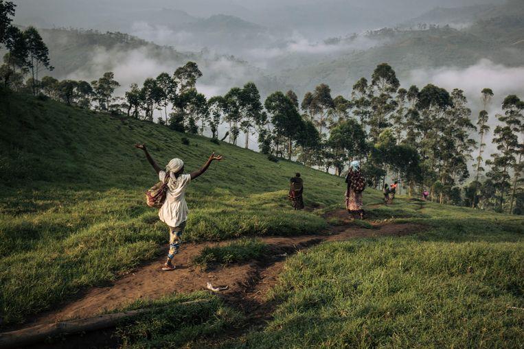 In totaal zouden 51 vrouwen seksueel zijn misbruikt door veelal buitenlandse hulpverleners. Beeld AFP