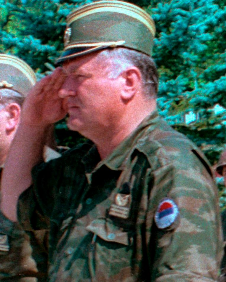 Onder Mladic leiding werd in Srebrenica de grootste slachting aangericht in Europa sinds de Tweede Wereldoorlog.