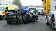 E17 urenlang afgesloten na ongeval met zeven voertuigen