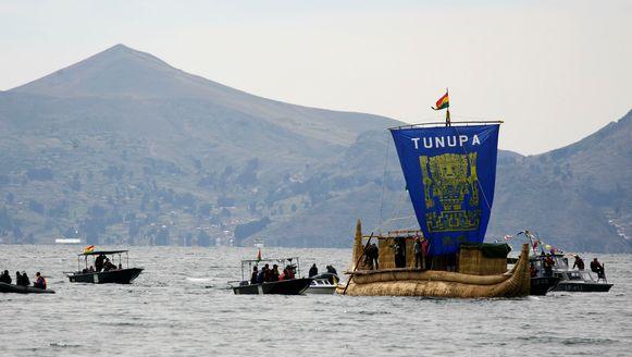 Het Titicacameer is het grootste en hoogst commercieel bevaarbare meer van Zuid-Amerika.