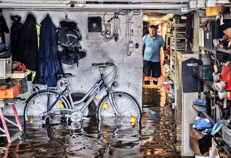 Ons land werd deze zomer zwaar getroffen door de hevige regenval. Vooral in Wallonië kwamen er heel wat buurten onder water te staan. Beeld Tim Dirven