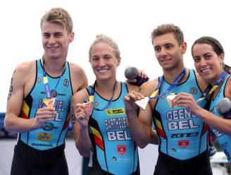 "Gemengd triatlonteam viert nieuwe doopnaam Belgian Hammers met EK-brons: ""Medaille in team voelt mooier aan dan individueel"""
