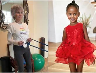 CELEBS 24/7. Jane Fonda is in topconditie en van wie is dit super schattig dochtertje?