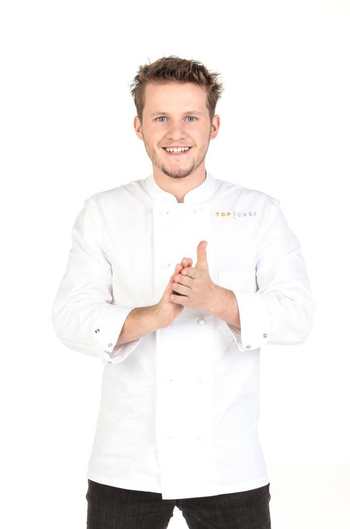 """Mathieu Vande Velde est le candidat belge de cette douzième saison de """"Top Chef""""."""
