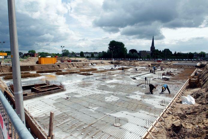 Nieuwbouw in Zutphen bij de Noorderhaven.