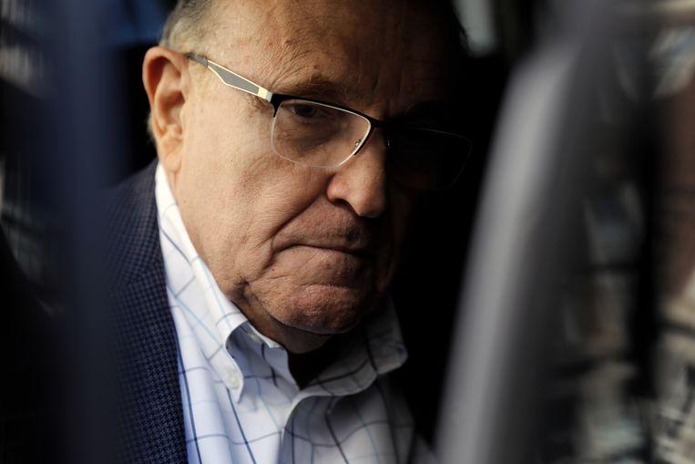 Rudy Giuliani Beeld EPA