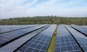 Een zonnepark elders in het land, ter illustratie.