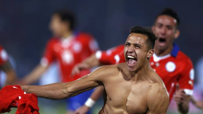 Geschiedenis! Chili pakt allereerste Copa América