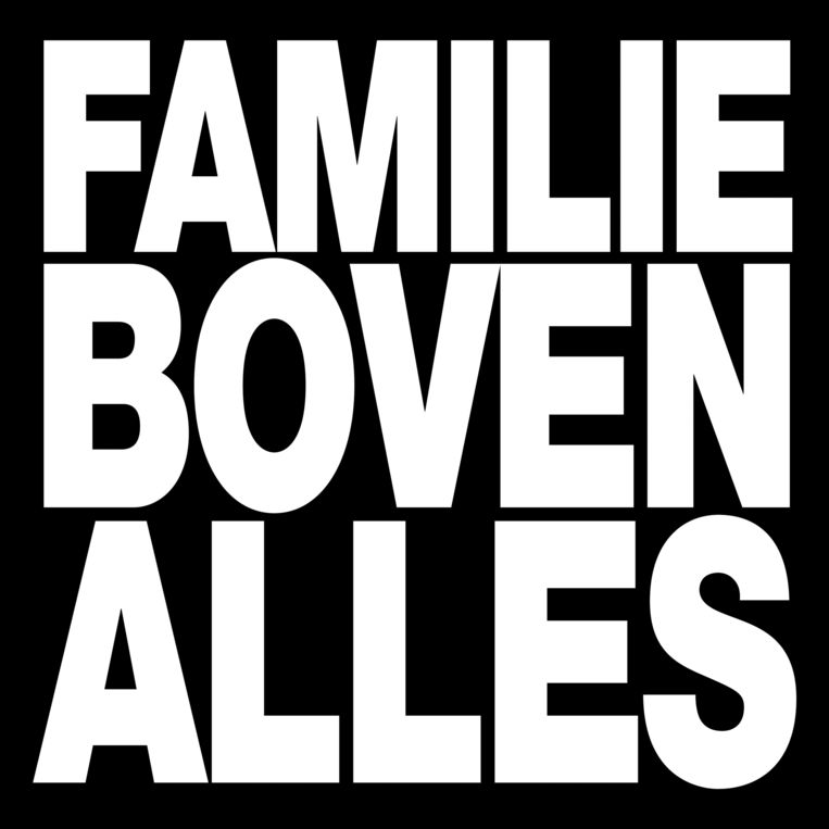 STIKSTOF Familie boven alles Beeld rv
